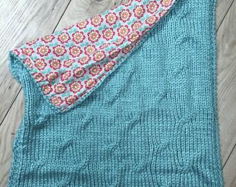 Raphael pattern baby blanket