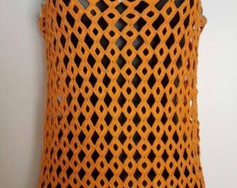 Orange tunic (size M)