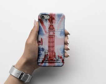 London Big Ben  Durable Hard Plastic Phone Cover For iPhone 6, iPhone 7, Samsung Galaxy S |ID137