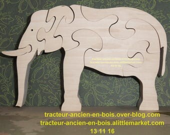 PUZZLE ELEPHANT Maplewood wrong at the bottom