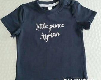 Personalized baby tshirt
