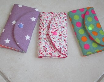 Clutch or case Barrettes in fabric - new models - customizable