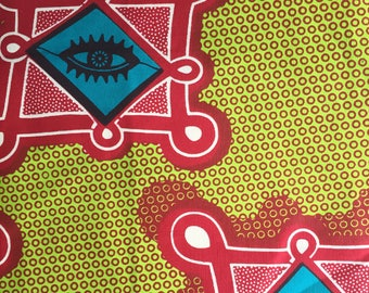 African wax fabric Wax Guaranteed Wax Block Prints Hitarget 91, fabric
