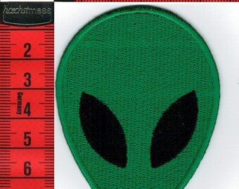 Martian embroidered patch iron or sew 5.5 x 8cm. Navy Patch applique, boats, sailing