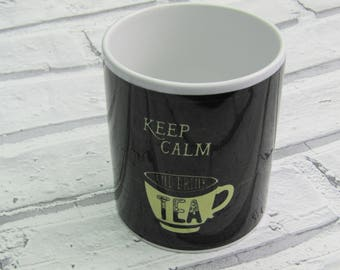 Keep calm and drink Tea Mug, 11oz, great quality, perfect gift!