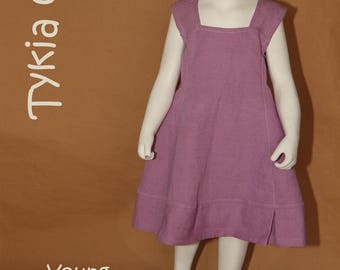 Young - Girl 4t cotton dress