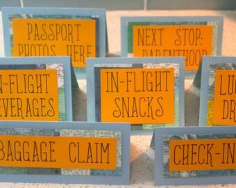 Travel Baby Shower Sign/Adventure Baby Shower/World Baby Shower Sign/Map Baby Shower Sign/Adventure Baby Shower Sign/Baby Shower Sign