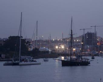 Poster - Malta Sailboats