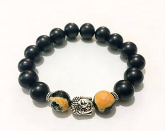 Buddha Meditation Stacking Bracelet