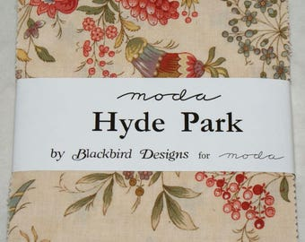 "Patchwork charm pack by moda - ""Hyde Park""."