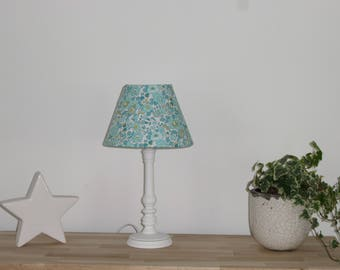Table lamp in Liberty BETSY MINT & LEMON