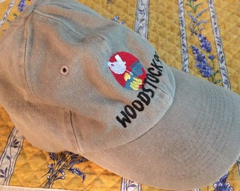 Woodstock 1999 Official Adjustable Hat * New / Never Worn * Music Memorabilia