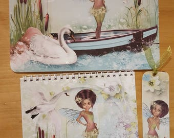 Kit 3 piece fairy and Swan