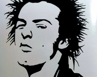 Sid Vicious Vinyl Decal