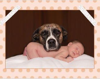 Kaart geboorte dochter