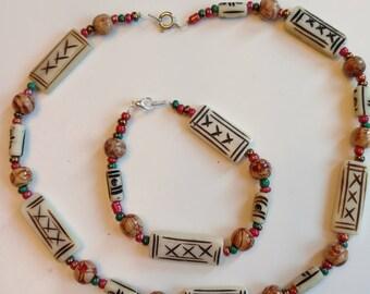 Necklace-Bracelet Set