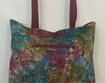 Beautiful Batik Tote Bag