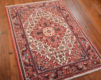 Vintage Persian Hamadan Rug, 3u00275u0027u0027x4u002710u0027u0027,