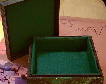Green Galaxy Jewerly Stash Box