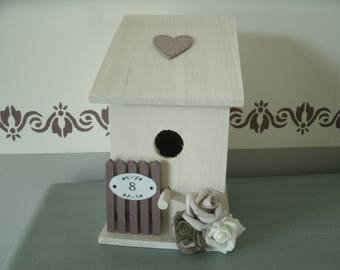 birdhouse spirit romantic heart n ° 8