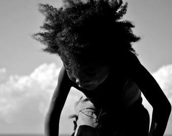 "Photography black and white: ""Face of children"" - Manakar, MADAGASCAR - 2015"