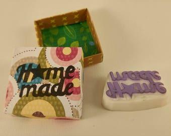 stamp handmade home-made star