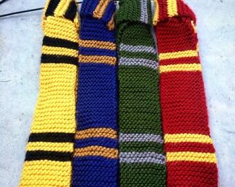 Harry Potter Knit Hogwarts Ties