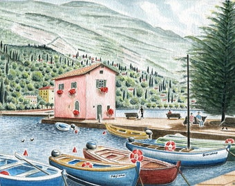 Reproduction for the set of 13 differences: Torbole version 1 or 2