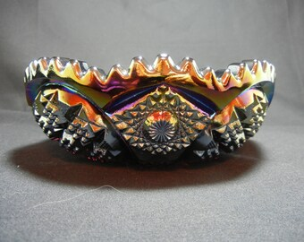 "Amethyst Carnival 6 1/2"" Bowl by Imperial Glass"