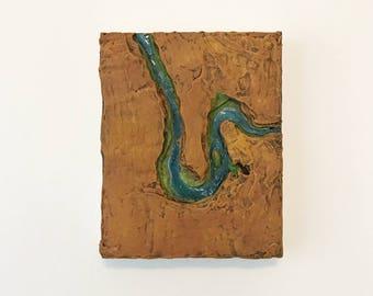 Horseshoe Bend 8x10 Landscape Sculpt