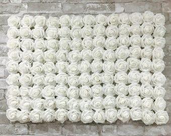 Detroit Rose Wall