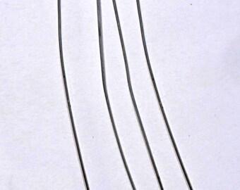 4 silver studs AC56 7cm
