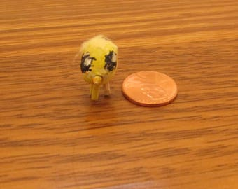 Little clay chick