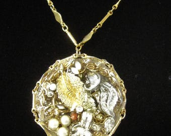 Redesigned Costume Jewelry - Chain and Pendant