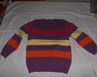 Kids 6 years old Wool Sweater