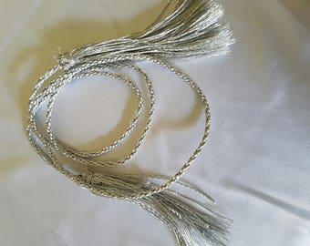 "Silver cord ""remaining"" Caftan belt"