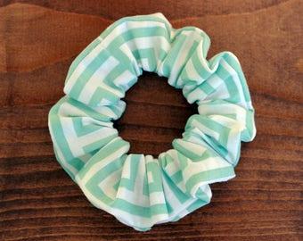 Spiral square, hair accessory, elastic scrunchie / scrunchie