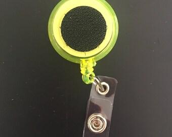 Yellow Badge Holder