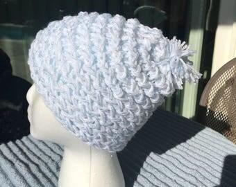 Handmade Knitted Beanie - Item #4011