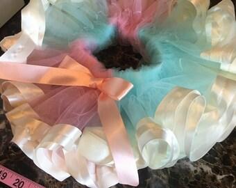 Pink and blue tutu