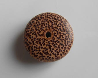 Donut shaped bead spotted timber