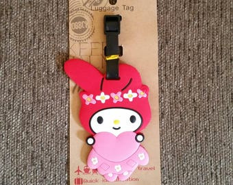 Melody Luggage Tag-Travel-Backpack Tag- Tag-Backpack ID- Suitcase Tag