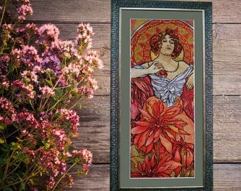 painting embroidered, cross-stitch, painting, interior decoration