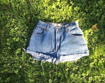 High waisted Levi Shorts