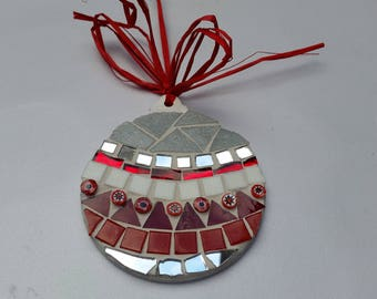 mosaic Christmas bauble