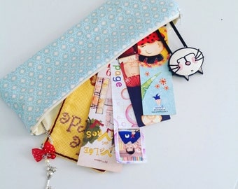 Customizable for bookmarks or other cloth case