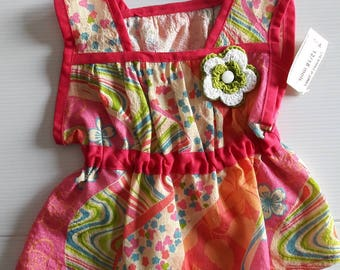 TANK TOP TUNIC COLOR PEP's 10 YEARS OLD GIRL