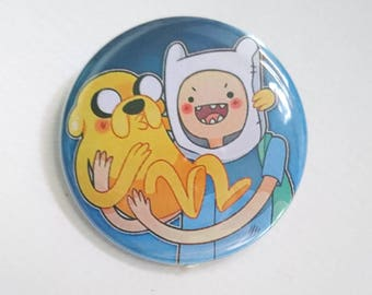 Adventure time - Finn and Jake badge