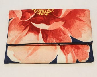 Floral Folding Clutch