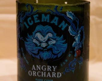 """Angry Orchard """"Iceman"""" Apple Harvest Candle"""